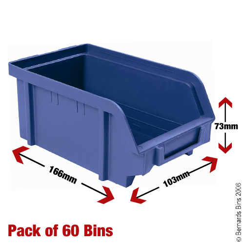 Garage Parts In A Box : Medium plastic parts bins boxes for garage storage box ebay