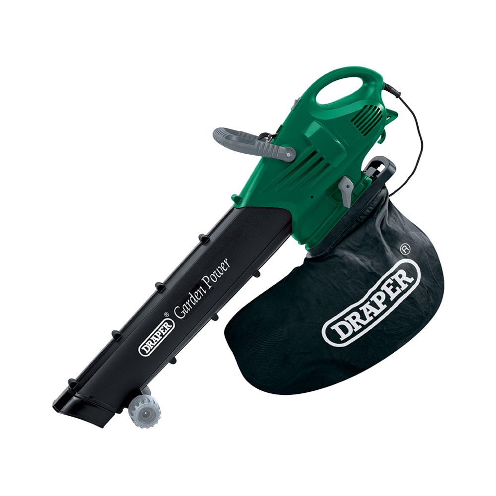 Draper 45543 2200w 230v garden vacuum blower mulcher ebay for Garden blower