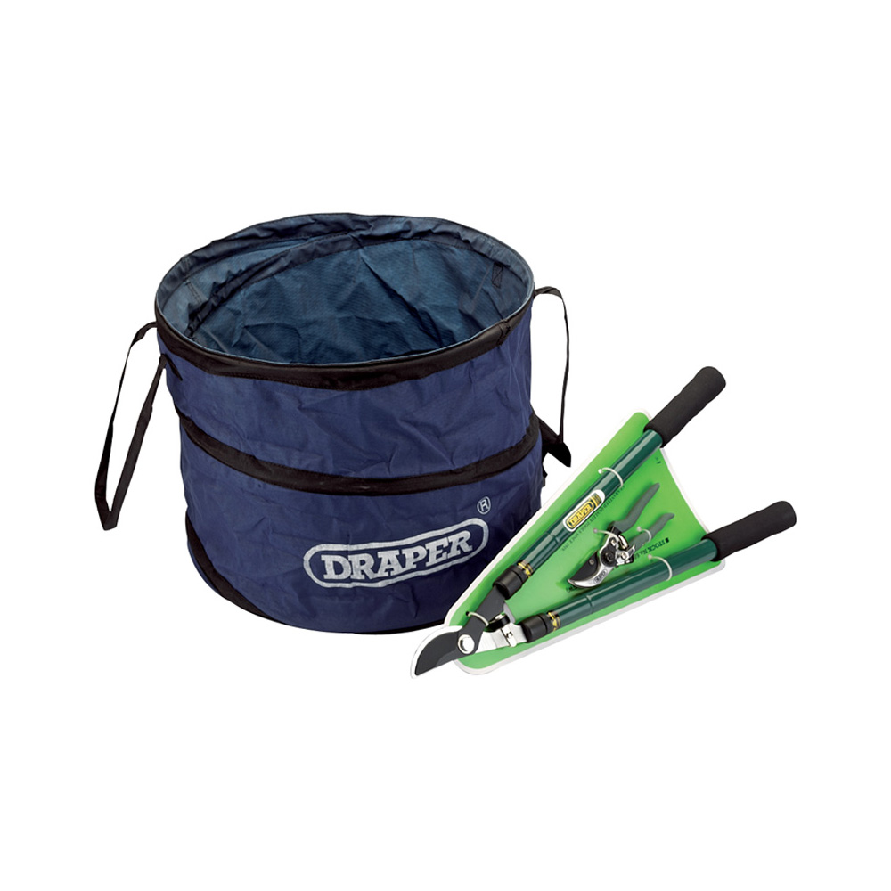 Draper 48294 Telescopic Bypass Lopper & Secateurs Set