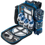 View Item Draper 77007 4 Person Backpack Picnic Set