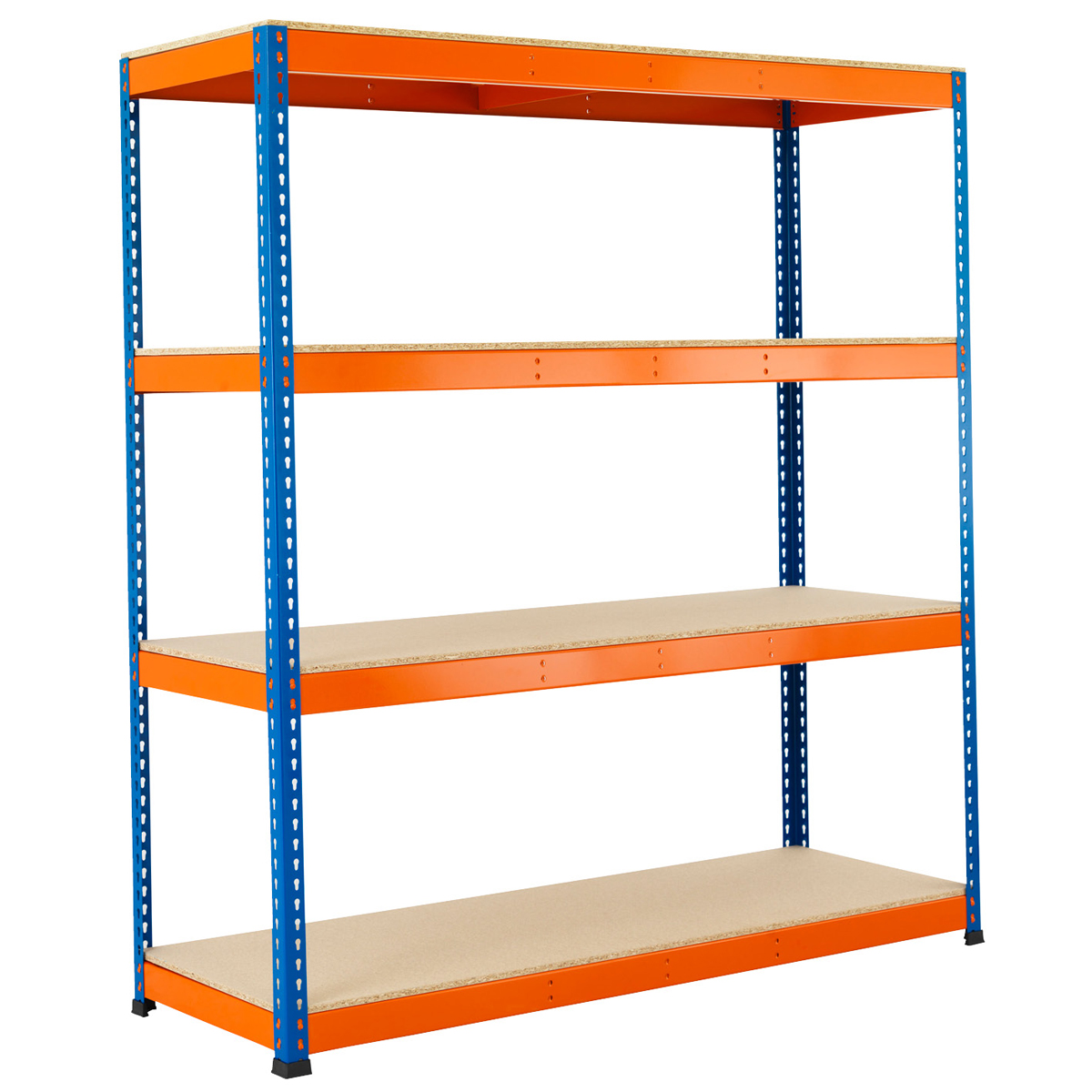 Esmena 1980mm Heavy Duty Warehouse Racking with 4 levels - 400kg UDL Shelving