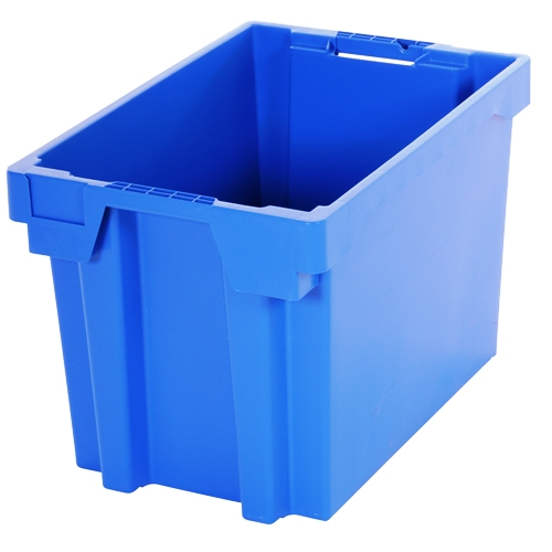 69L Capacity Box Industrial Container Blue