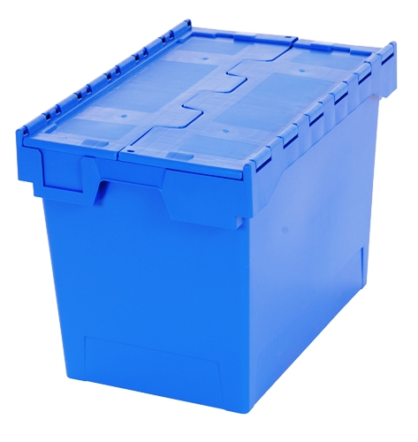 75L Capacity Box Industrial Container Blue