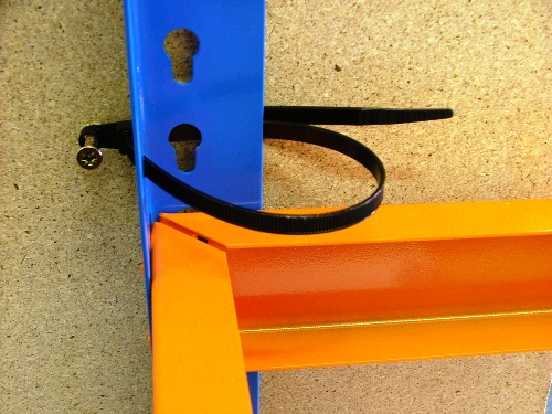 Heavy Duty Cable Tie Strap for Shelving & Storage Boxes