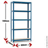 View Item Budget Shelving Bay - 1780h x 900w x 300d mm