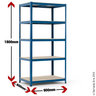View Item Budget Shelving Bay -  1780h x 900w x 600d mm