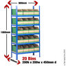View Item Shelving Picking Bay With 20 Cardboard Bins