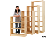 Pine Shelving + Bookcases