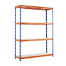 View Item Max Heavy Duty Warehouse Shelving - 2000h x 1500w x 900d mm