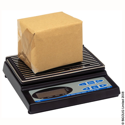 Electronic Postal Scale with 5kg Capacity