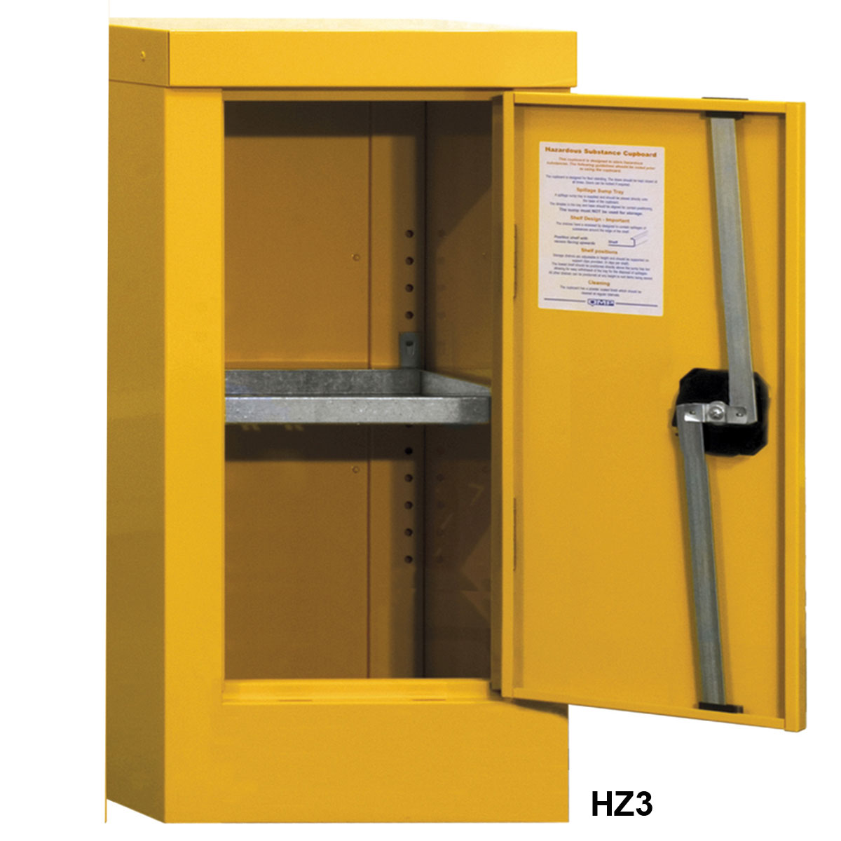 NEW Low Steel Hazardous Cabinet Cupboard Hazard