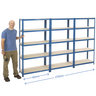 View Item 3 Shelving Bays Deal - 1780h x 900w x 450d mm