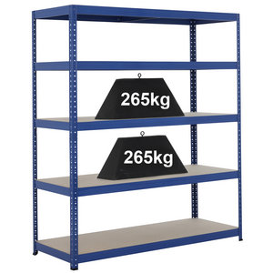 Industrial Shelving Bay - 1780hx 1500w x 450d mm Preview