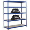 View Item Industrial Shelving Bay - 1780hx 1500w x 450d mm