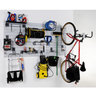 View Item Garage Slatwall Rack With Hooks