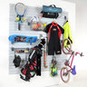 View Item Sports Slatwall Rack With Hooks