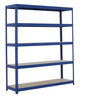 View Item Industrial Shelving Bay - 1780h x 1800w x 450d mm