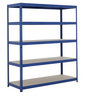 View Item Industrial Shelving Bay - 1780h x 1800w x 600d mm