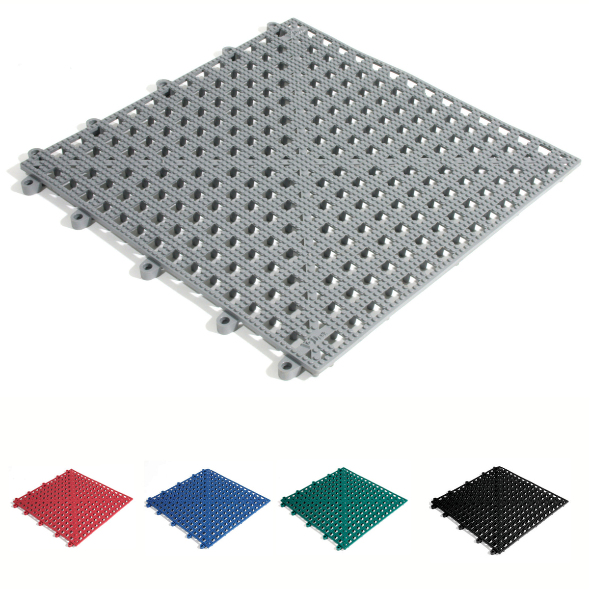 Flexi-Deck Wet Area Drainage Mats Pool Outside Non Slip