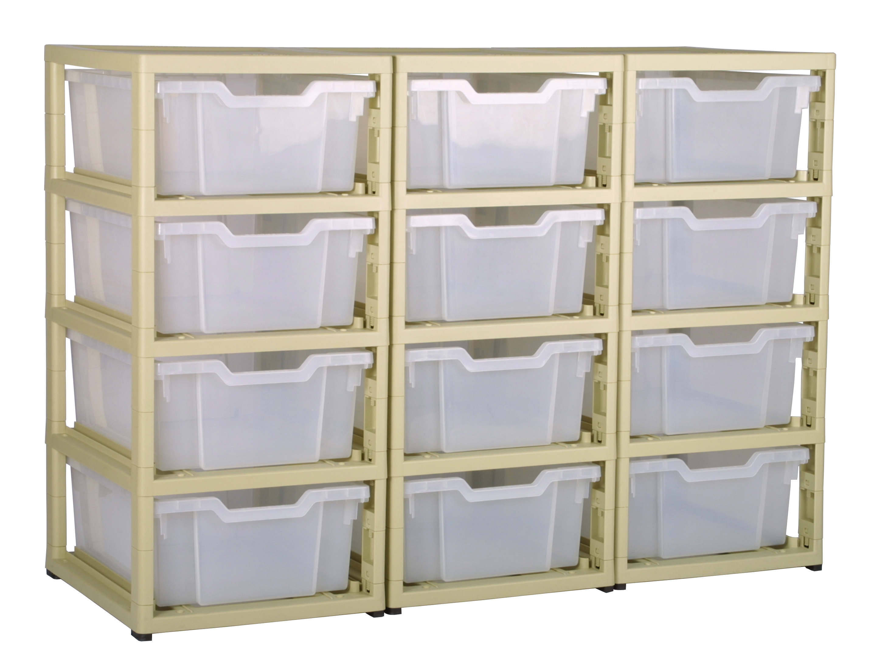 gratnells 12 tray storage units nursery office school