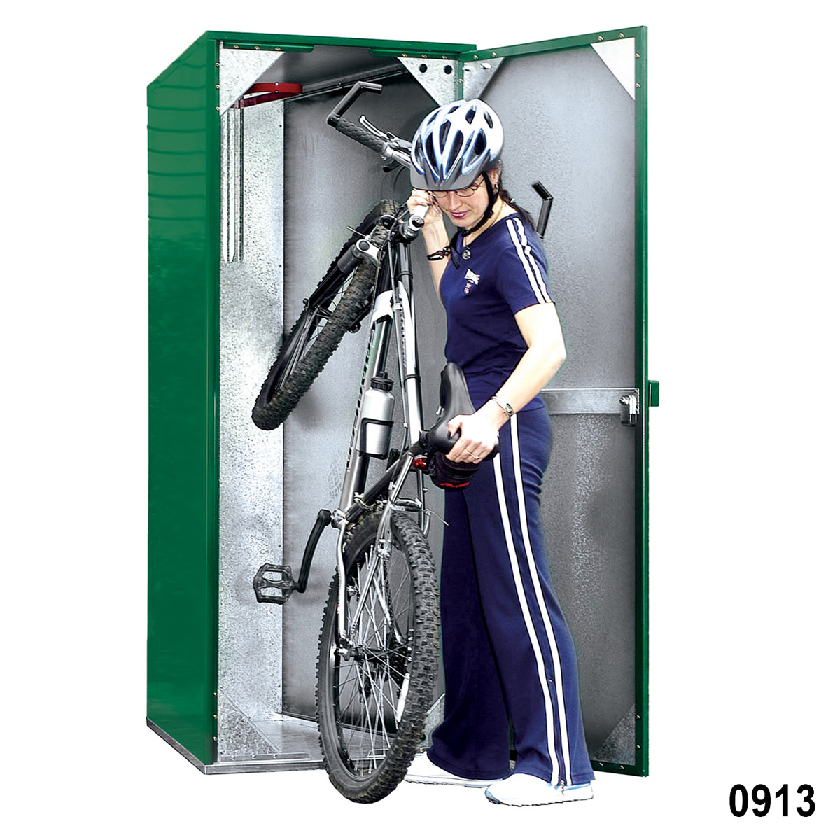 Vertical Bike Storage Locker