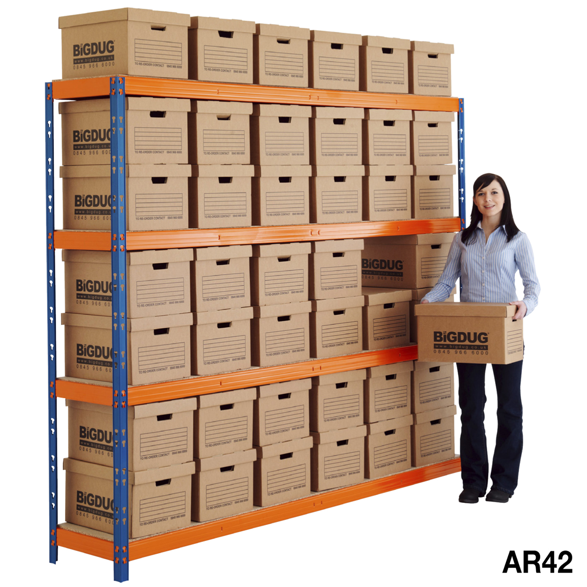 max archive document storage shelving with boxes ebay With archive document storage