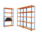 View Item 3 Bay Mega Deal Industy Shelving / Racking / Storage / Garage / Shed / Workshop