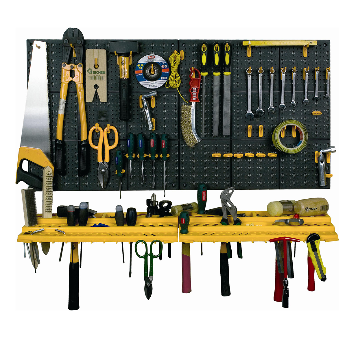 Garage Wall Tool Rack Storage Kit Tools Organizer Home Shelves Inc 50 Hooks!