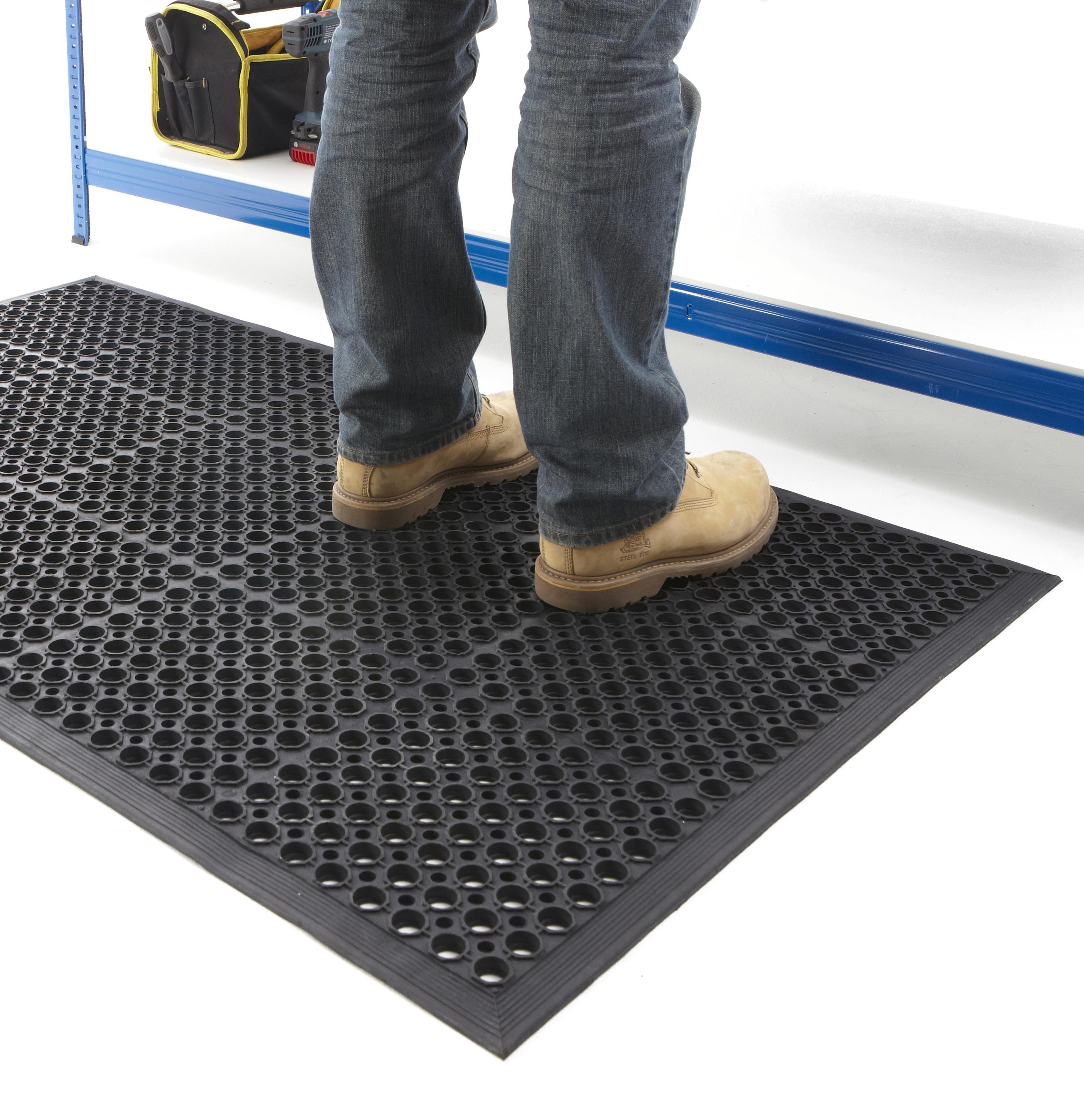 Comanti Fatigue Floor : Non Slip Anti Fatigue Floor Mats Mat Flooring Garage Workshop 800 x ...
