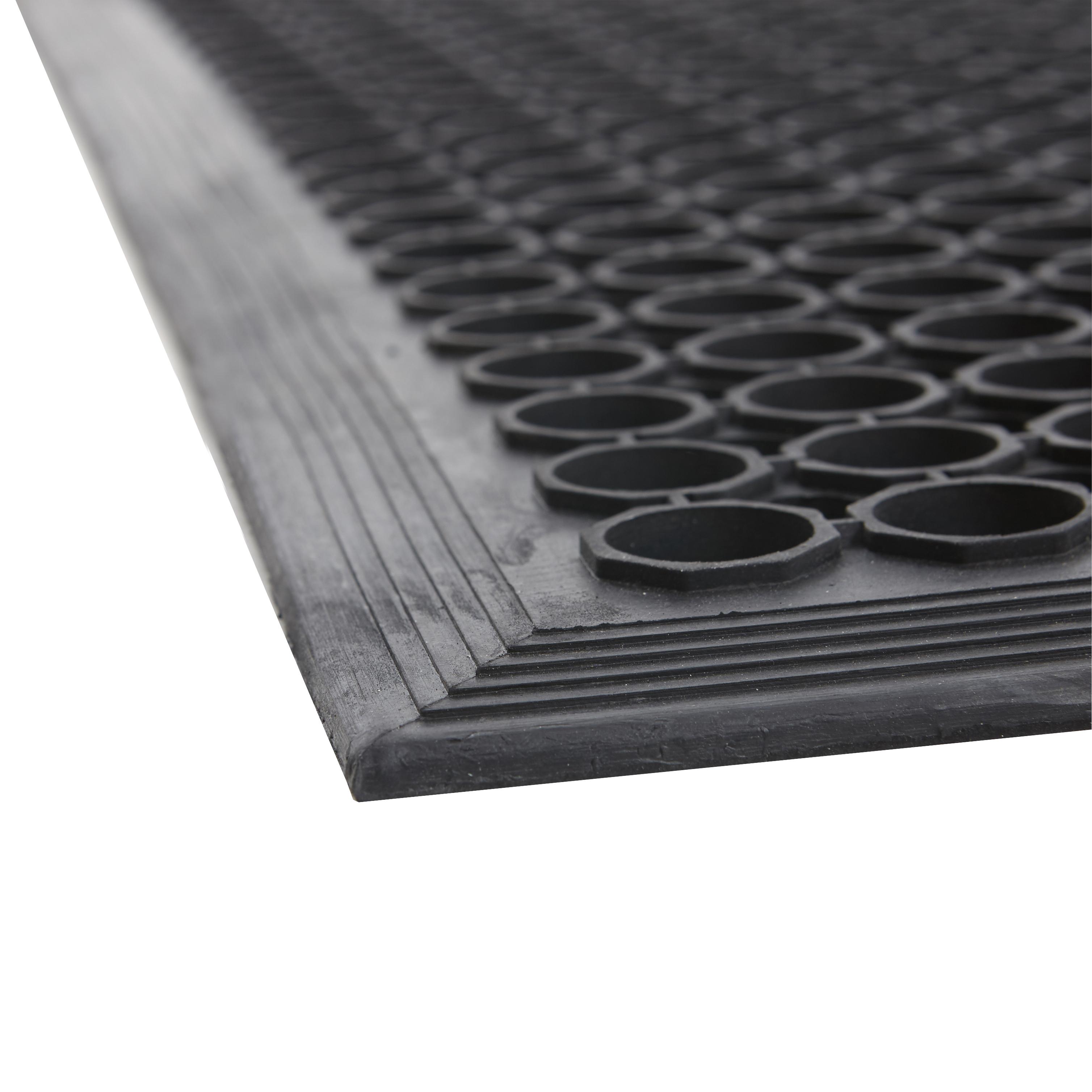 Rubber floor mats jhb -  Large Outdoor Entrance Mats Rubber Saftey Mat Flooring Heavy Duty