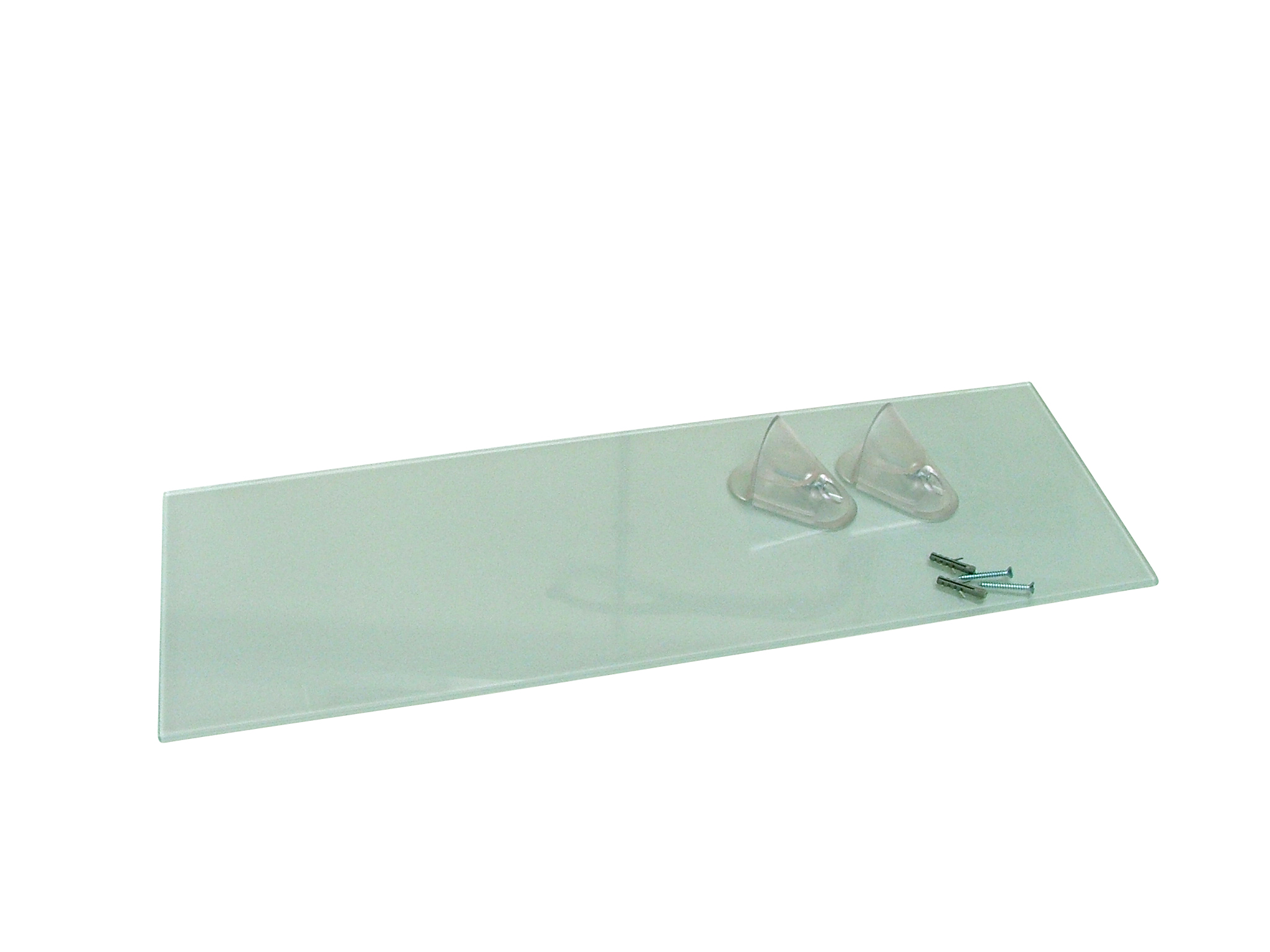 Floating Wall Glass Shelving Unit 600mm W X 200mm D EBay