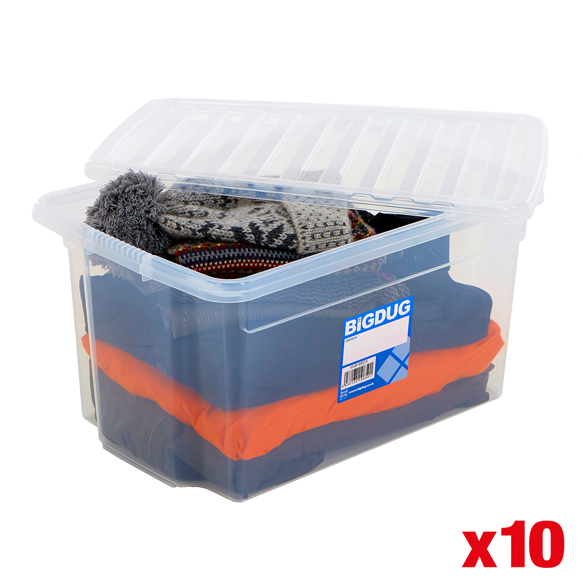 Acrylic Box 4 X 4 : Plastic storage boxes large containers with lid clear