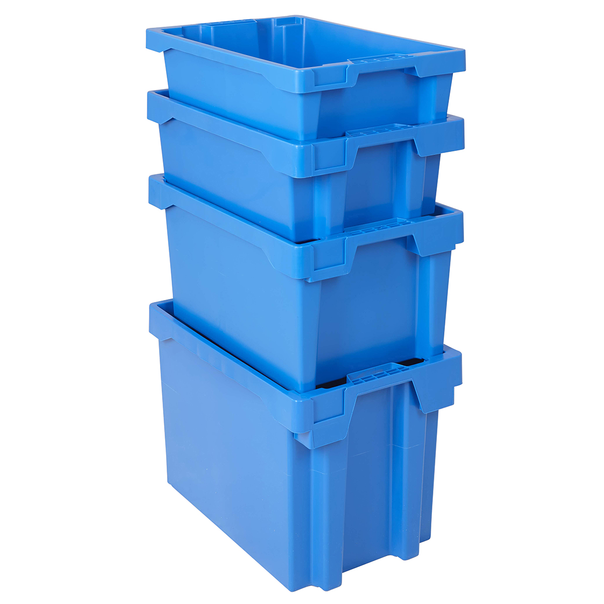Euro Boxes Blue Plastic Storage Stackable Nestable