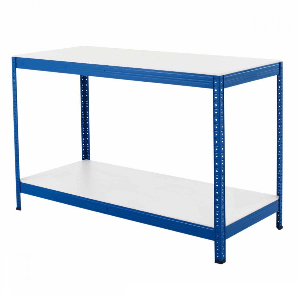 Heavy Duty Melamine : Workbench garage work bench heavy duty melamine top