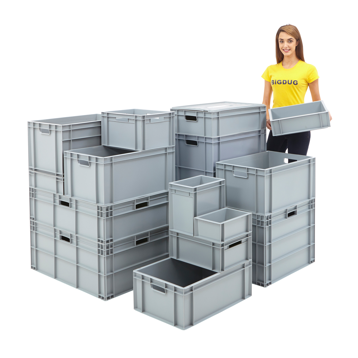 Stackable Storage Bins Menards Industrial Warehouse Pp