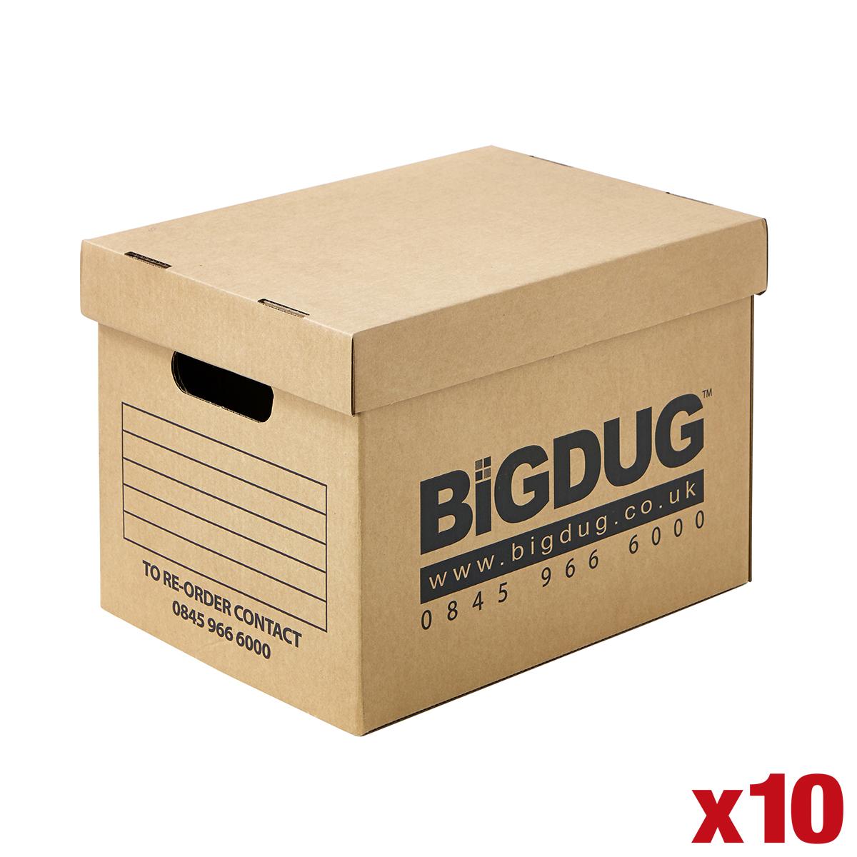 10 x cardboard document boxes value archive storage file. Black Bedroom Furniture Sets. Home Design Ideas