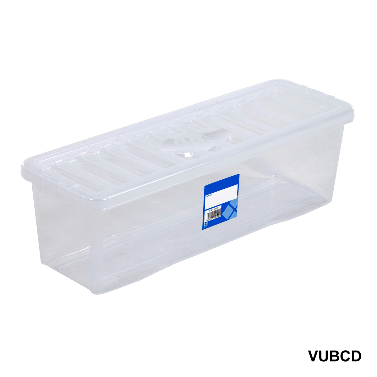 plastic storage box containers blue