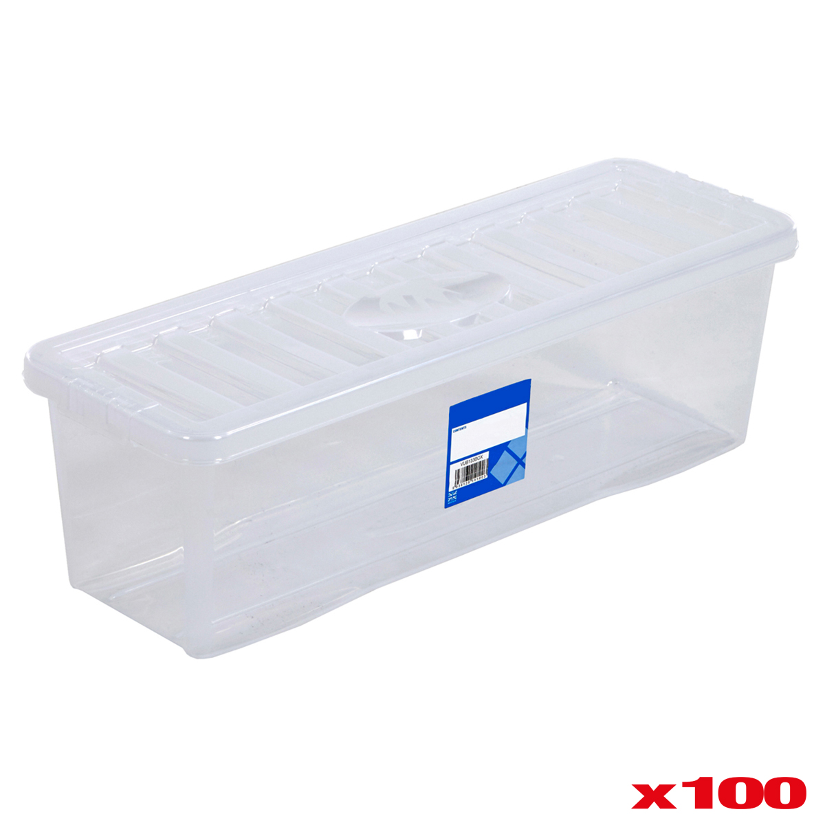 Cd Plastic Storage Box Clear Container With Lid Home