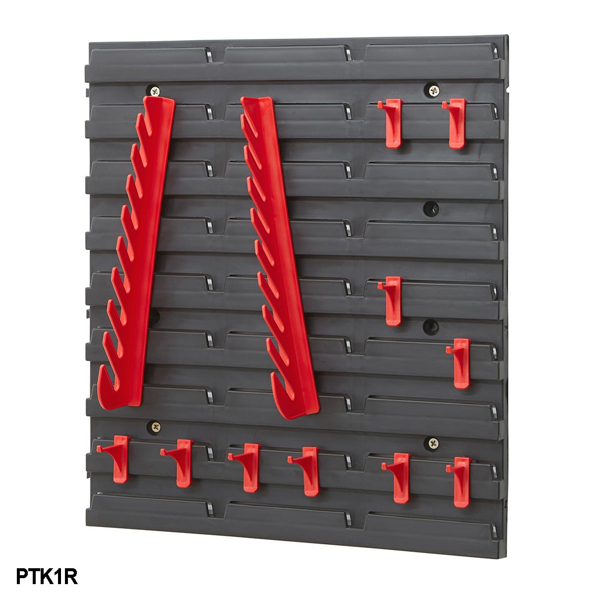 Louvre Panel Tool Rack Kits Garage Storage Shelving Tool
