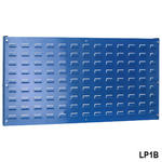 View Item Blue Louvre Panel for Plastic Bins 500h x 1000w mm