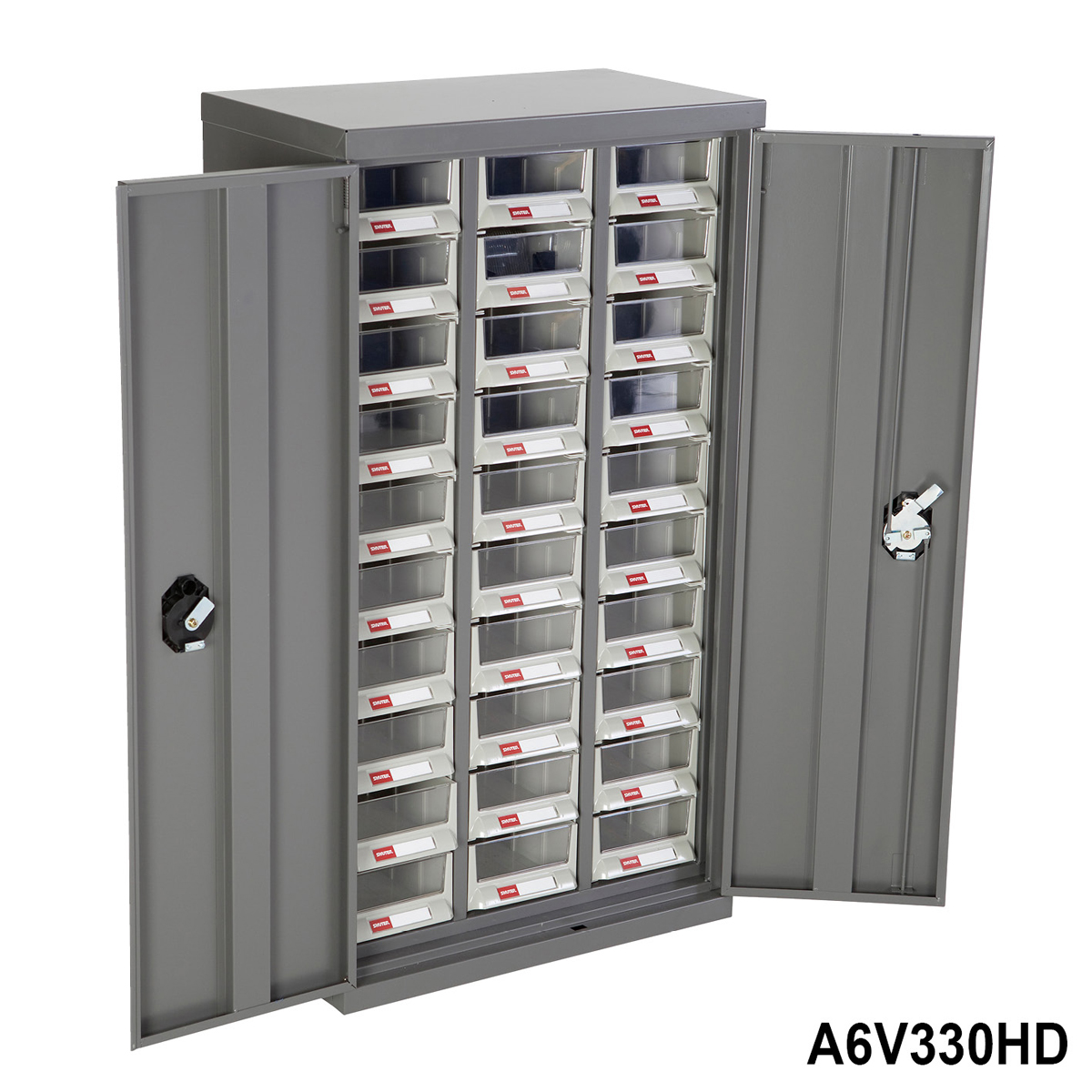 Heavy Duty Parts Cabinet With Doors And 30 Drawers Ebay