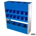 View Item Van Racking / Shelving ideal Storage Solution for Tools - Kit 5
