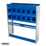 View Item Van Racking / Shelving ideal for Tool Storage - Wheel Arch Kit 1