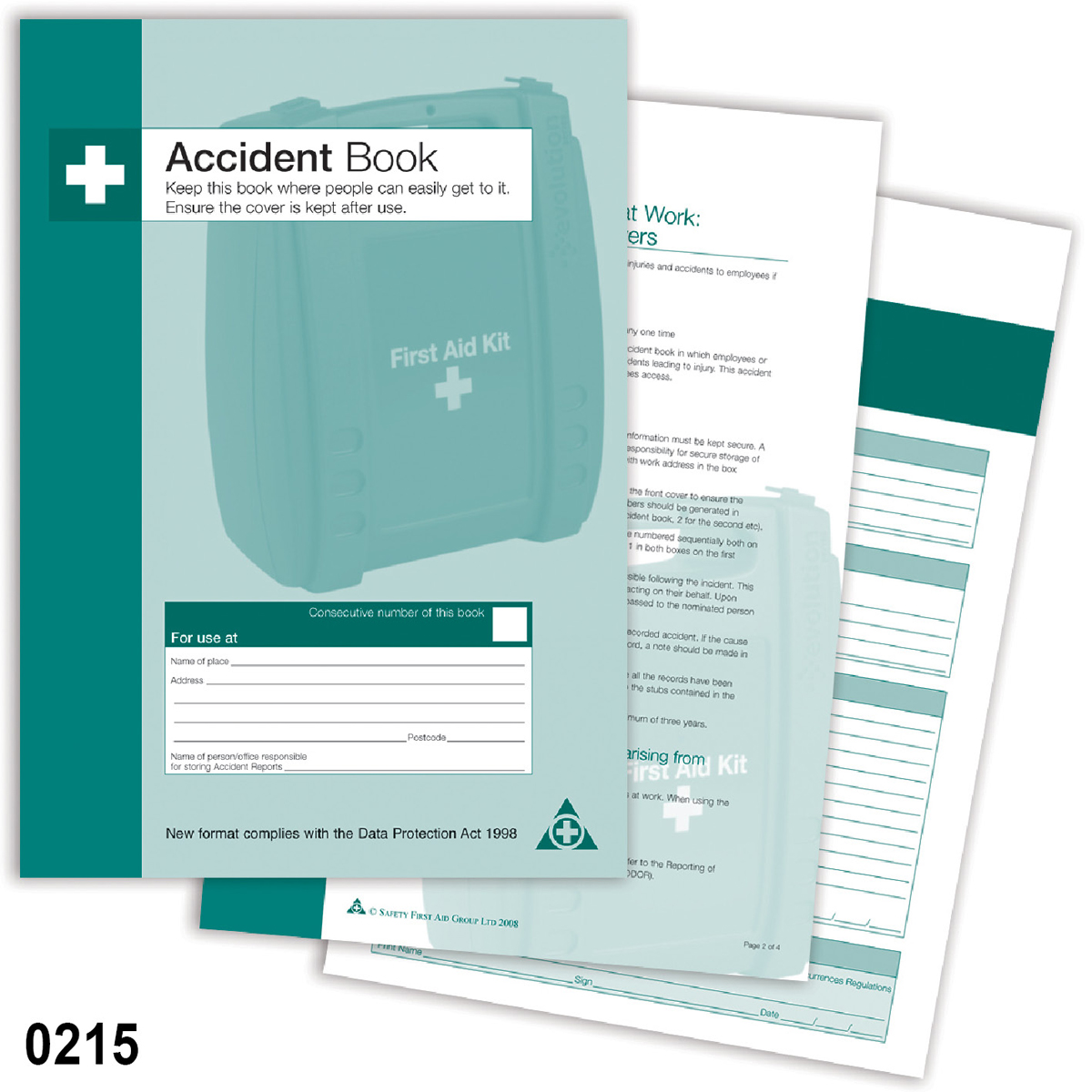 Accident Log Book