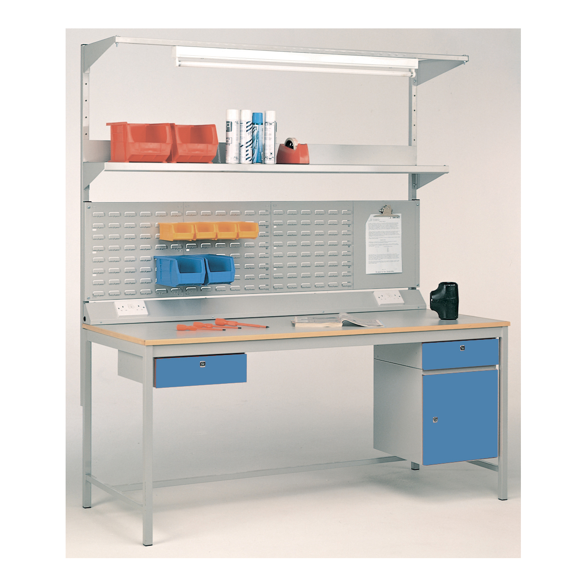 Workstation - Capacity 300kgs Laminate Top 1200w x 750d mm
