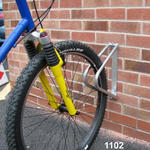 View Item Wall Mounted Swivel Single Cycle Rack