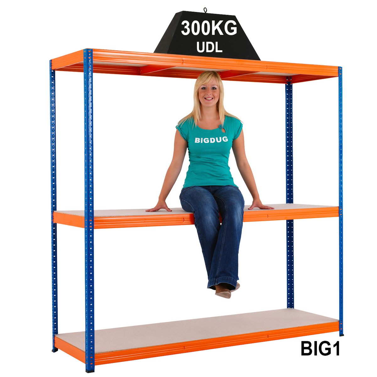 Warehouse Shelving & Workbench starter Kit racking