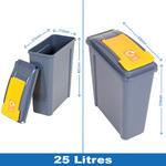 Wham Recycling Bins 25 Litre Thumbnail 2