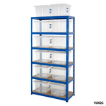 Shelving Storage Bays With Plastic Boxes Thumbnail 5