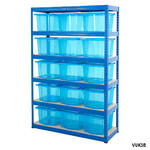Shelving Storage Bays With Plastic Boxes Thumbnail 6